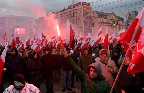 join   white europe march  poland