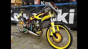 Modifikasi Kawasaki Ninja R 150 Drag Race