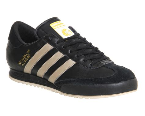 timberland black adidas beckenbauer black gold his trainers