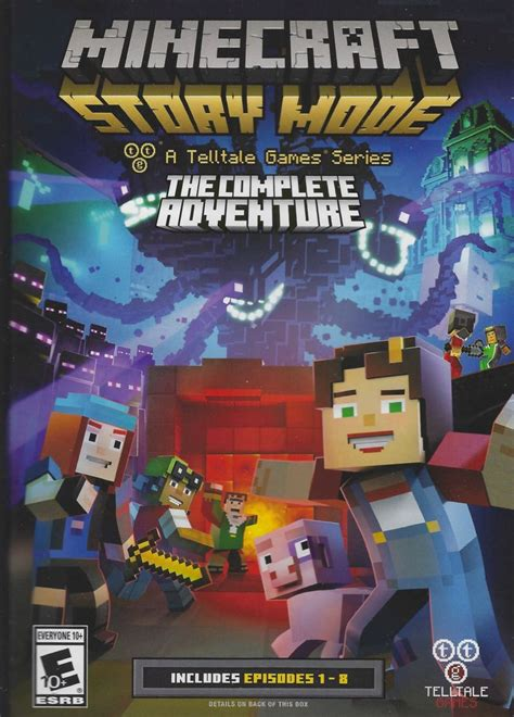 Minecraft: Story Mode (2015) credits - MobyGames