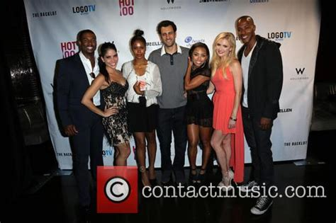 hit the floor cast logo s quot hot 100 quot party at drai s