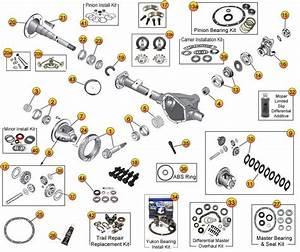 Dana 35 Rear Axle Parts For Wrangler Tj