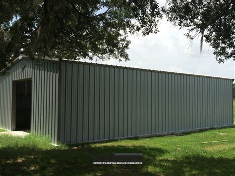 metal building for tractor storage at bg farms in ocala florida metal building services llc