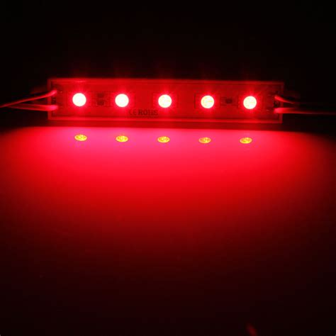 red led light strip 12v 5 smd 5050 led module light waterproof hard strip bar
