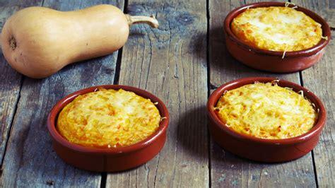 cuisiner butternut petits gratins de butternut à la polenta artichaut et