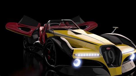 Bugatti 124 Atlantique Grand Sport Concept Car By Alan