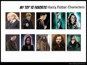 My Top Ten Favorite Harry Potter Characters by ...