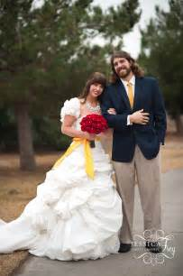 Beauty and the Beast Inspired Wedding Dress