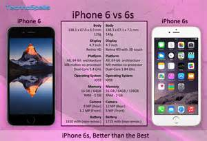 compare iphone 6 and 6s apple iphone 6 vs 6s improvements for sure technospells