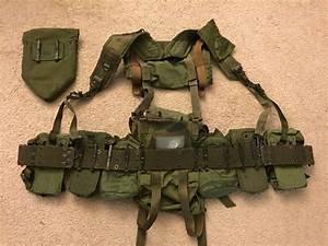 Unissued M 1967 US Army Experimental Nylon Web Gear Set ...