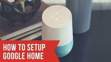 Google Home Setup  How To Set Up Google Home Youtube