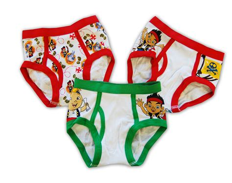 Jake And The Neverland Pirates Toddler Underwear