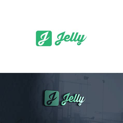 playful modern dating logo design  jelly
