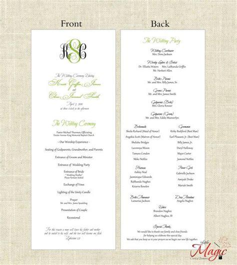 wedding program templates simple printable diy wedding programs simple but by littlemagiccards 25 00 wedding paper