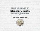 Proud Mayflower Descendant - Stephen Hopkins Digital Art ...