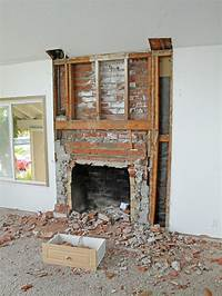 brick fireplace remodel Remodel Brick Fireplace Before And After | Fireplace Designs