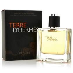 Terre D'hermes Cologne 6.7 Oz Pure Perfume For Men - TERDHPP67SM