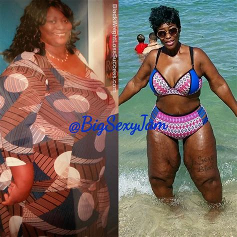 jam lost  pounds black weight loss success