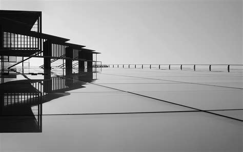 picture bridge building abstract architecture