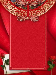 Style, Invitation, Romantique, Mariage, Rose, Fond, U00c0, La