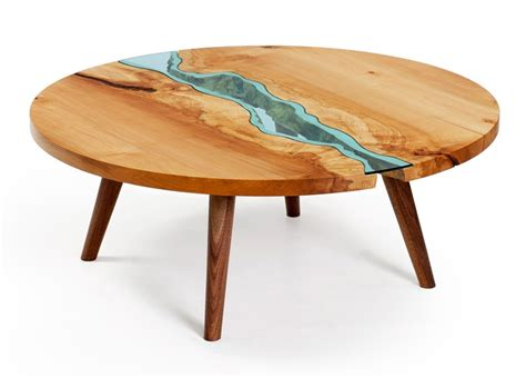 Designer Tische Holz by Unique Wooden Tables Embedded With Glass Rivers And Lakes