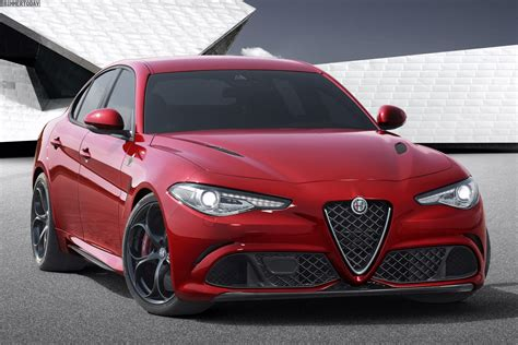 Alfa Romeo Giulia Quadrifoglio Verde Vs Bmw M3 Photo
