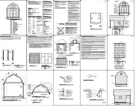 12x16 storage shed with loft plans kiala 10 x 12 gambrel shed plans torrents