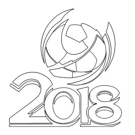 Kleurplaten Voetbal Rode Duivels by Leuk Voor Logo Wk Voetbal 2018 In Rusland