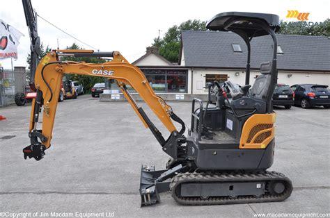 case cxc mini excavator   macadam equipment