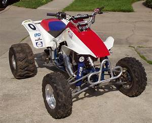 Honda Trx250r Fourtrax 250r Atv Service  U0026 Repair Manual