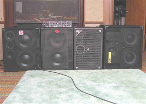 2x10 Bass Cabinet Shootout by Bowlus Bass 2x10 Shootout