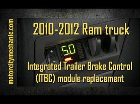 dodge ram  brake controller installation   save