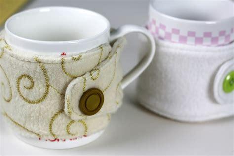 fleece mug cozy video tutorial crafty gemini