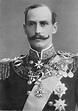 Haakon VII, King of Norway, wearing the Royal Victorian ...