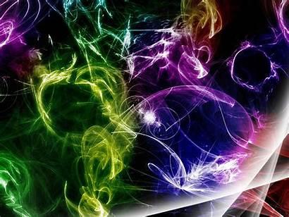 Multicolor Digital Colors Swirls Allwallpaper Standard
