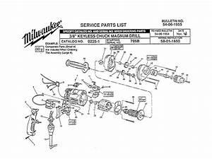 Buy Milwaukee 0225 8 U0026quot  Keyless Chuck Replacement