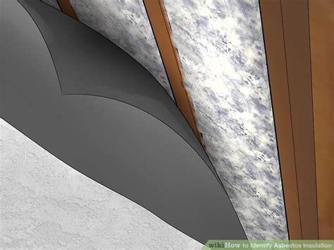 easy ways  identify asbestos insulation wikihow