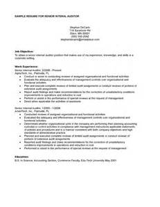 Senior Auditor Resume Objective by Resume Teaching Resumes Design