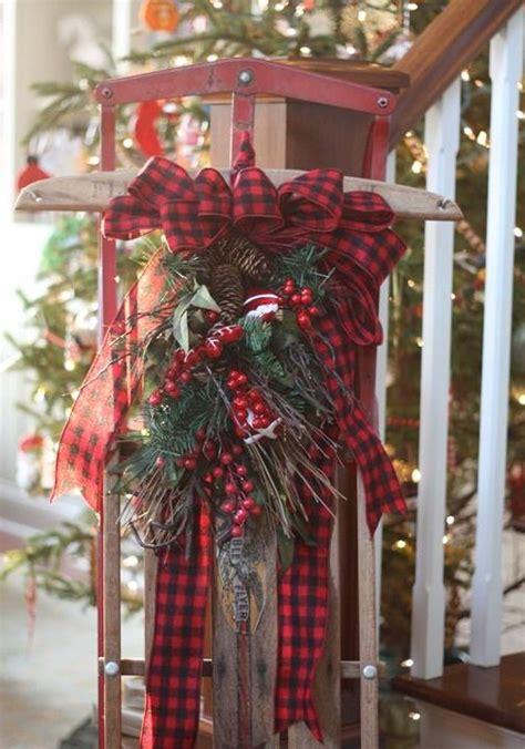 plaid christmas ornaments  decoration ideas  xerxes