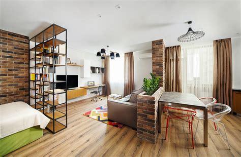 divide  studio apartment  multiple rooms urbin storage