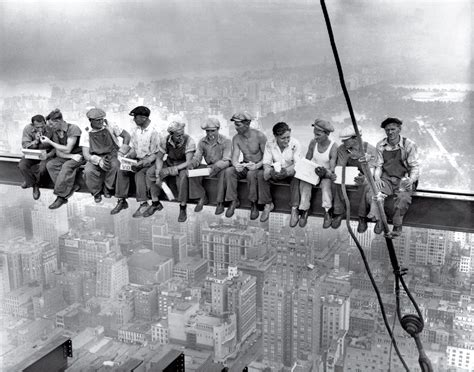 Lunch Atop A Skyscraper 100 Photographs The Most Influential Images Of All Time