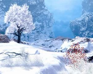 Winter Mountain Screensavers and Wallpaper
