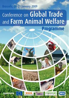 animal welfare  trade conference documents