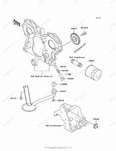 Kawasaki Side By Side 2012 Oem Parts Diagram For Oil Pump