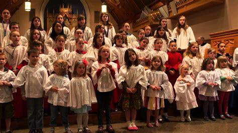 Grace Church School Choirs & Chapel Choir, May 5, 2013