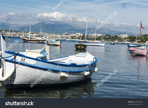 Small Fishing Boat Called by Small Brightly Coloured Traditional Fishing Boats