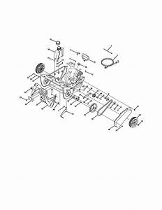 Auger  U0026 Drive System Diagram  U0026 Parts List For Model