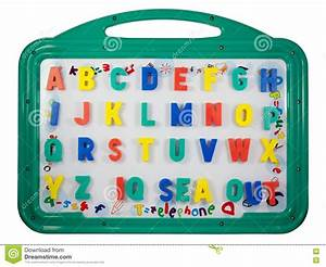 Magnetic letters on a whiteboard stock photos image for Magnetic letters and numbers for whiteboards