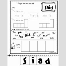 Kindergarten Kiosk Multitask Sight Word Workbook