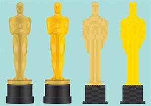 Oscar, Statue, Vectors